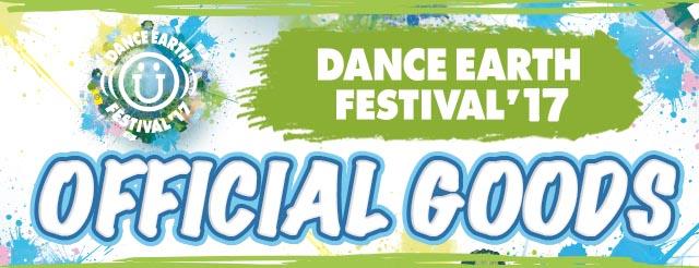 DANCE EARTH FESTIVAL 2017 TOUR GOODS