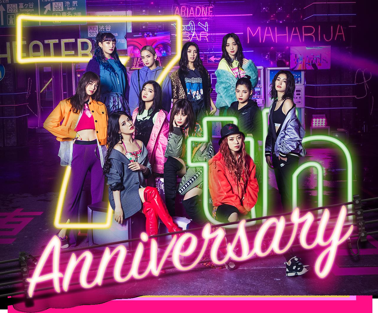 12 28 金 はe Girls デビュー7周年 E Girls 7th Anniversary E G