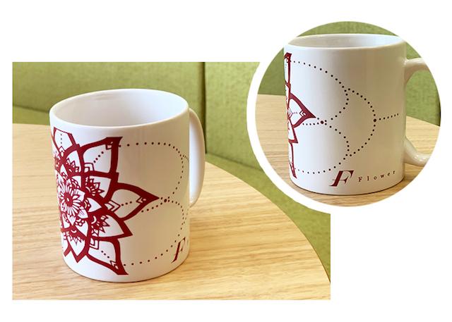 Flower『F』オリジナルマグカップ